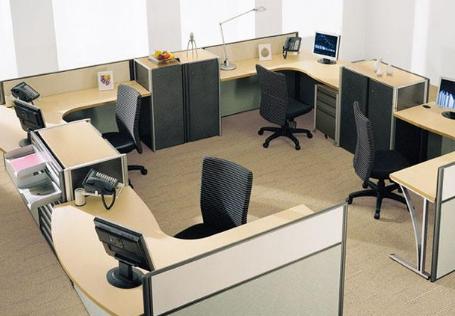 办公室家具定做工厂怎么生产及配置的?