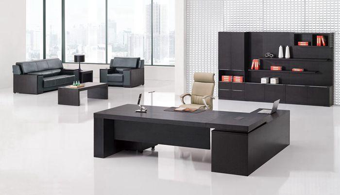 浙美办公简约老板桌、大班台、总裁桌