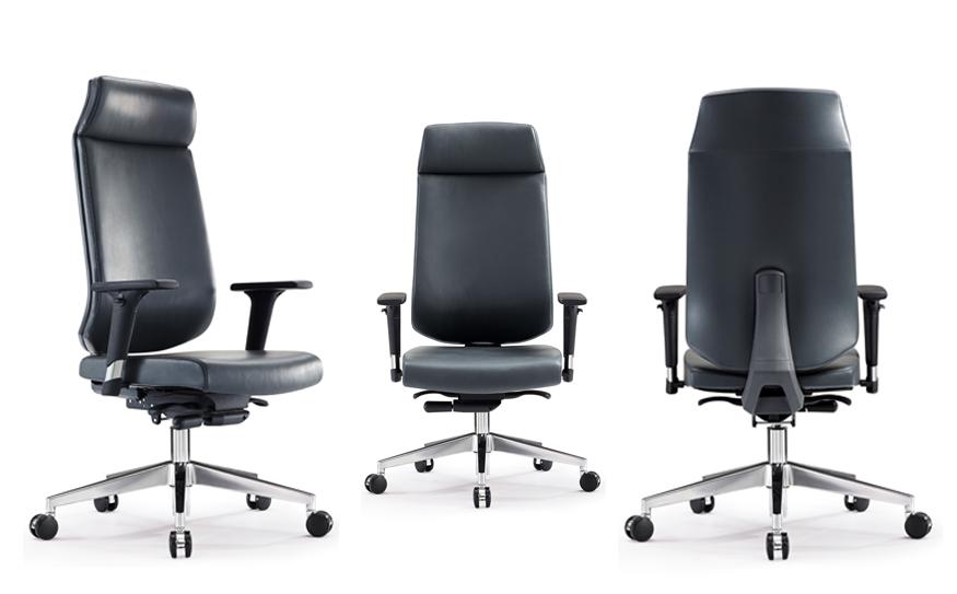 现代简约  升降旋转主管椅