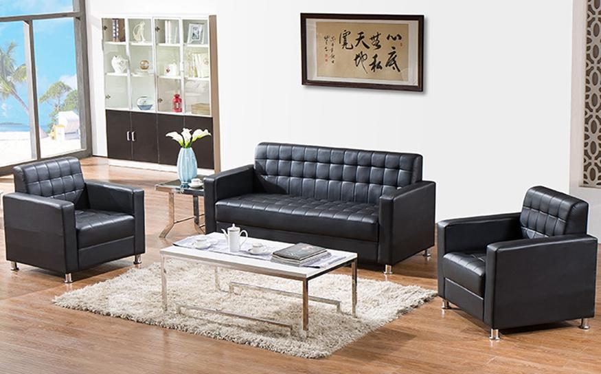 现代简约 优质西皮商务接待沙发