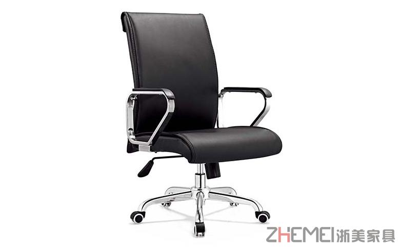 时尚自由  舒适可旋转经理大班椅B263