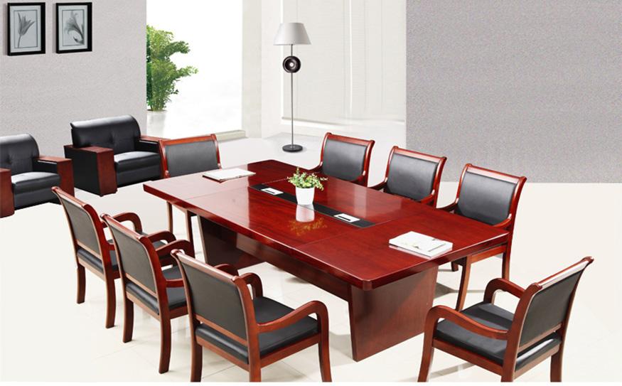 现代简约条形会议桌