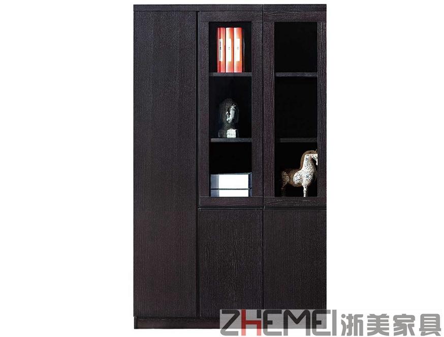 黑橡木现代时尚主管职员文件柜