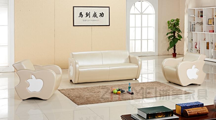 现代时尚办公苹果沙发