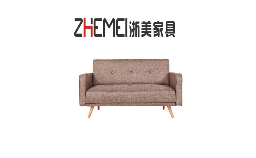 浙美办公家具简约商务布艺办公沙发可拆洗多色接待区休息区沙发