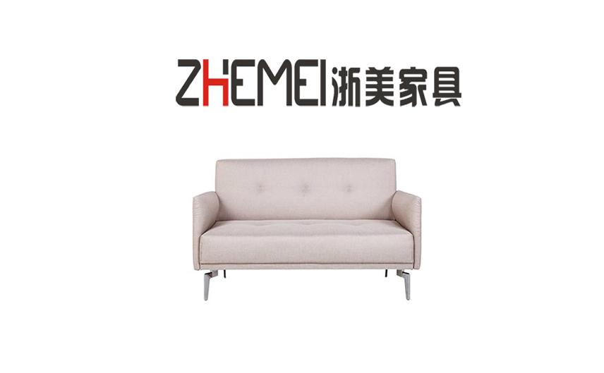 浙美办公家具简约商务布艺办公沙发多色接待区休息区沙发