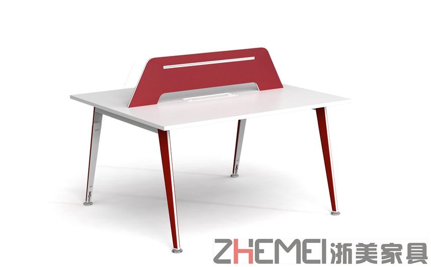 简约而不简单现代时尚双/四人职员桌