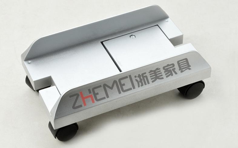 主机托架 可移动滑轮机箱拖 环保主机架