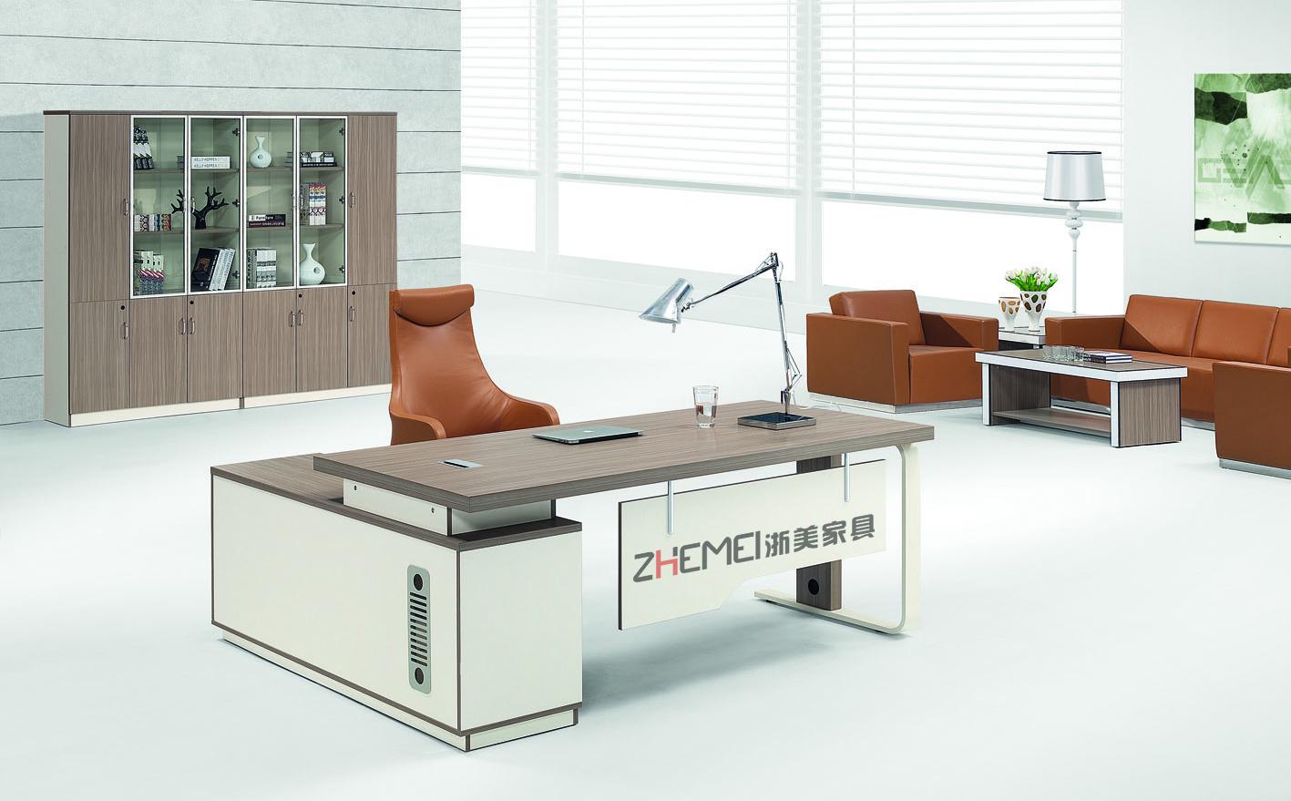 时尚自由 浙美主管、经理办公室班台、主管桌