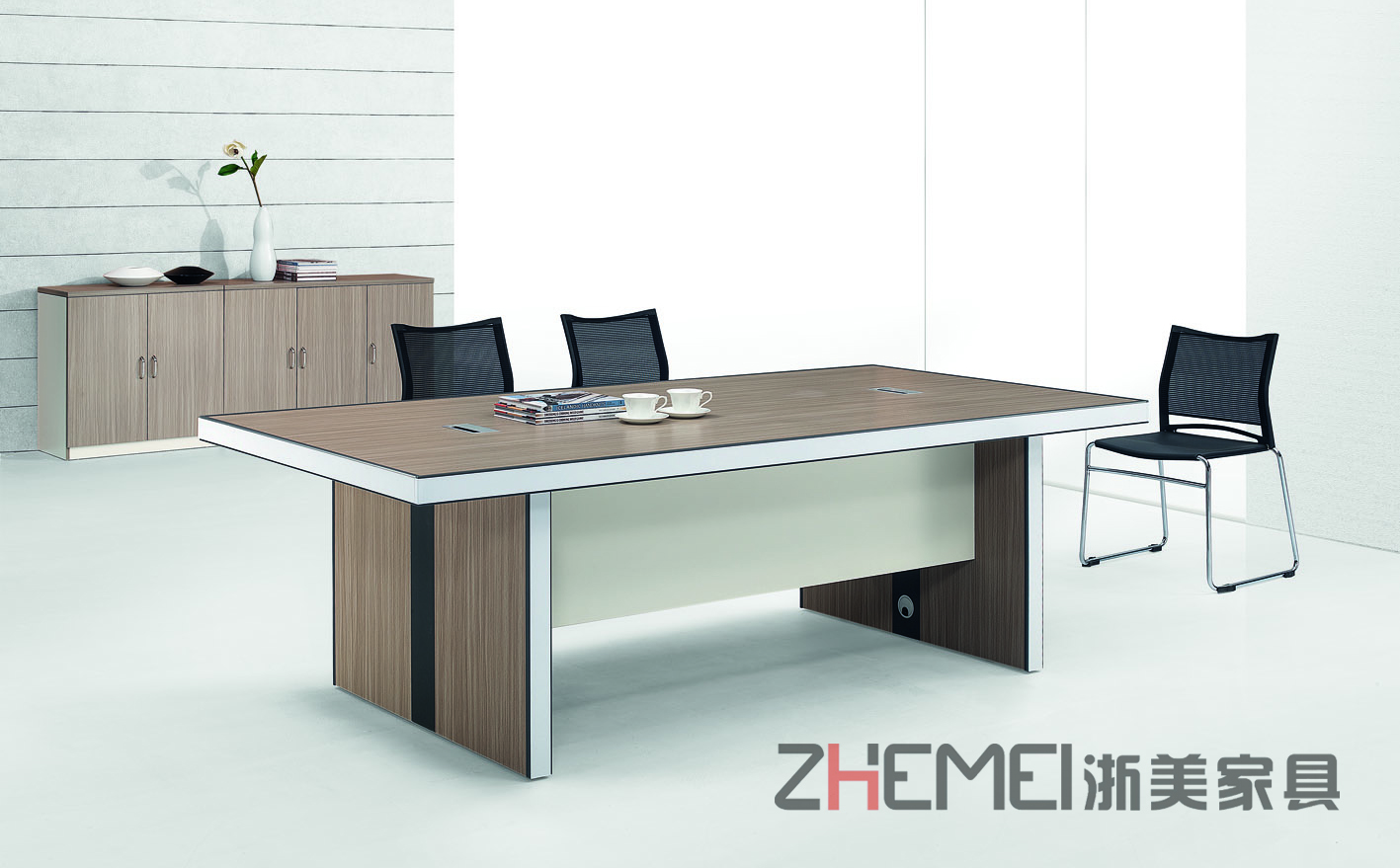 时尚自由 浙美办公桌、开会洽谈桌、会议桌