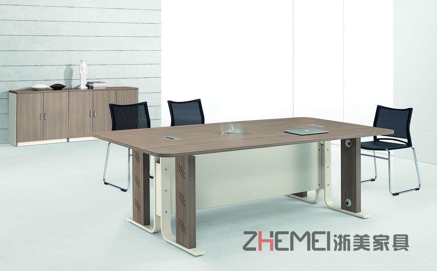 时尚自由 浙美办公家具会议桌、商谈洽谈桌