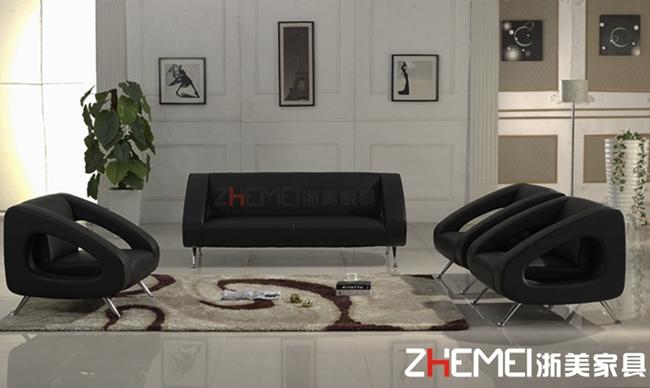 简约时尚办公沙发ZM003