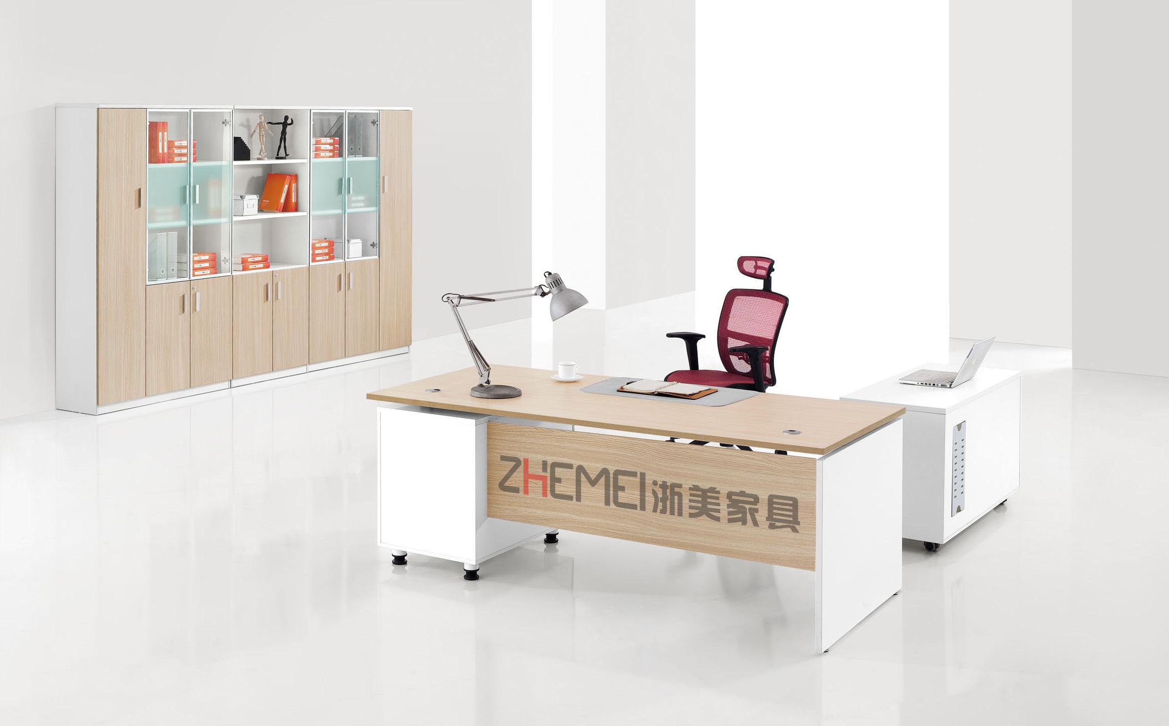 时尚现代浙美办公室经理主管用电脑桌