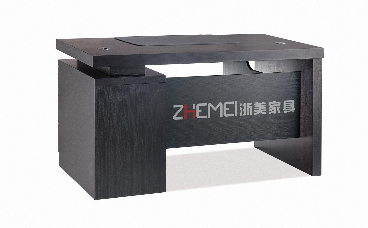 浙美时尚简约高端办公室办公桌、职员电脑桌