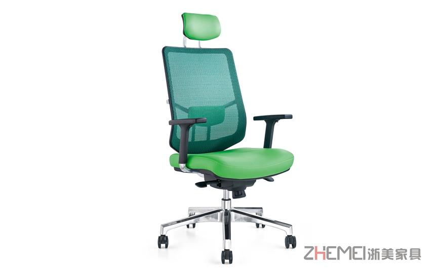浙美办公室中班椅透气网布升降转椅电脑椅WY-010
