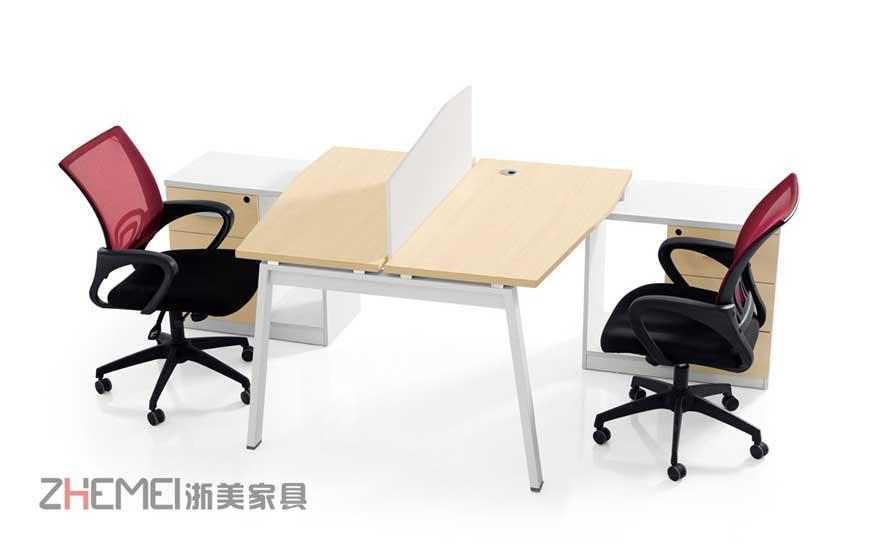 浙美2017年爆款现代简约中班职员桌、电脑工作台